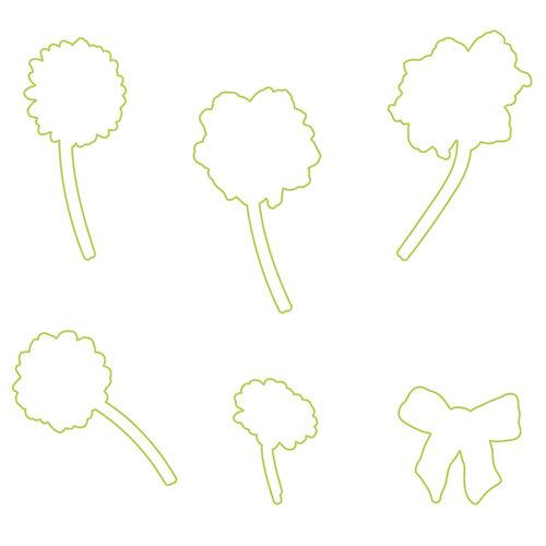 Fun Stampers Journey - Dies - Cottage Bouquet
