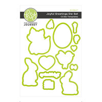 Fun Stampers Journey - Ready Set Spring Collection - Dies - Joyful Greetings