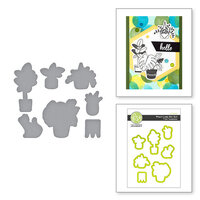 Fun Stampers Journey - Take Time For You Collection - Dies - Plant Lady