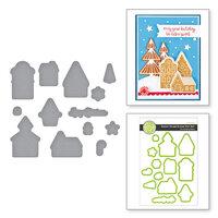 Fun Stampers Journey - Christmas - Dies - Sweet Gingerbread