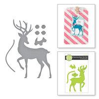 Fun Stampers Journey - Christmas - Dies - Prancing Deer