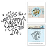 Hero Arts - 3D Shading Stamps - Happy Day