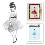 Spellbinders - Rouge Royal Collection - Clear Acrylic Stamps - Fab Girl