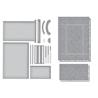 Spellbinders - Make A Scene Collection - Etched Dies - Filigree Facade Frame Bundle
