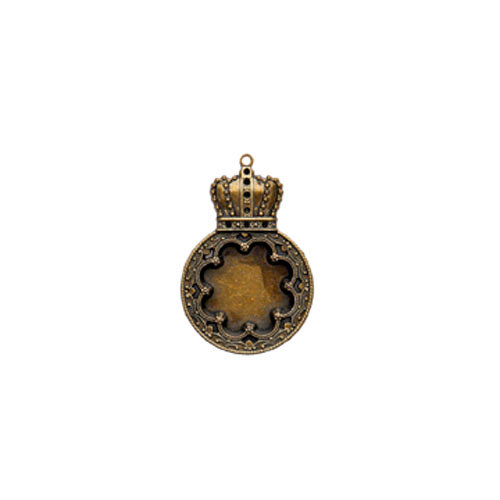 Spellbinders - A Gilded Life Collection - Pendant - Rose Medallion