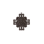 Spellbinders - A Gilded Life Collection - Pendant - Family Crest - Silver