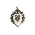 Spellbinders - A Gilded Life Collection - Pendant - Vintage Heart Locket