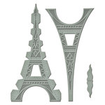 Spellbinders - A Gilded Life Collection - Bezel Dies - Le Tour Eiffel