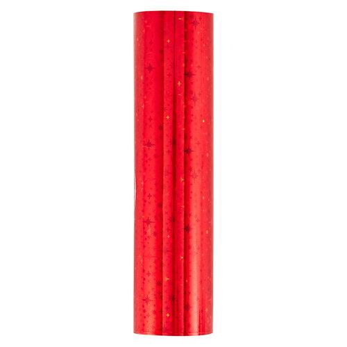 Spellbinders - Glimmer Hot Foil Collection - Glimmer Foil Roll - Crimson Stars
