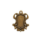 Spellbinders - A Gilded Life Collection - Bezels - Shield - Large - Gold