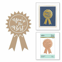 Spellbinders - Glimmer Hot Foil - Glimmer Plate - You're the Best