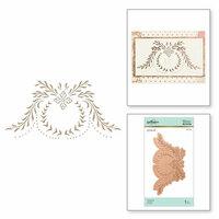 Spellbinders - Glimmer Hot Foil - Glimmer Plate - Cartouche