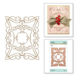 Spellbinders - Glimmer Hot Foil - Glimmer Plate - Elegant Rectangle