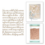 Spellbinders - Glimmer Hot Foil - Glimmer Plate - Elegant Background