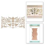 Spellbinders - Glimmer Hot Foil - Glimmer Plate - Elegant Border