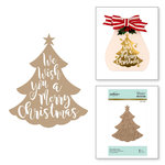 Spellbinders - Glimmer Hot Foil - Christmas - Glimmer Plate - We Wish You