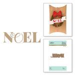 Spellbinders - Glimmer Hot Foil - Christmas - Glimmer Plate - Noel