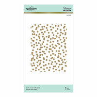 Spellbinders - Glimmer Hot Foil - Glimmer Plate - Scattered Dot Pattern