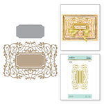 Spellbinders - The Gilded Age Collection - Glimmer Hot Foil - Glimmer Plate - Vines