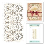 Spellbinders - The Gilded Age Collection - Glimmer Hot Foil - Glimmer Plate - Lace Frippery