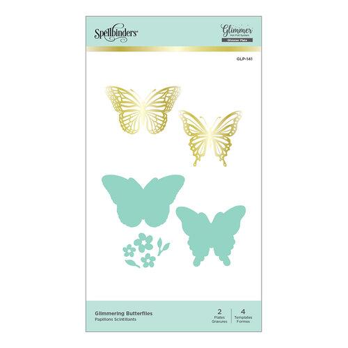 Spellbinders - Glimmer Hot Foil - Glimmer Plate - Glimmering Butterflies