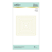 Spellbinders - Glimmer Hot Foil - Glimmer Plate - Essential Glimmer Squares