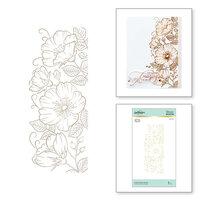 Spellbinders - Glimmer Hot Foil - Glimmer Plate - Sweet Blooms