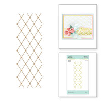 Spellbinders - Glimmer Hot Foil - Glimmer Plate - Diamonetta Background