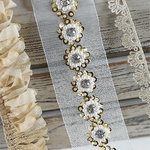 Spellbinders - A Gilded Life Collection - Antique Gold Trim