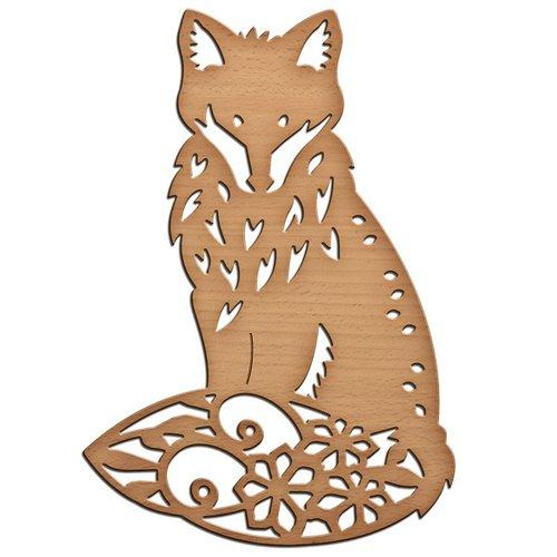 Spellbinders - Shapeabilities Collection - InSpire Die - Foxy