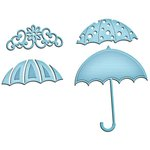 Spellbinders Shapeabilities Umbrella Trio InSpire Die