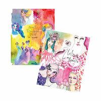 Spellbinders - Artomology Collection - Mixed Media - Washi Sheets - Girls