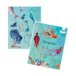 Spellbinders - Mixed Media - Washi Sheets - Mermaids