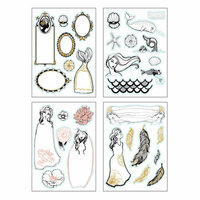 Spellbinders - Artomology Collection - Cardstock Stickers - Colorist