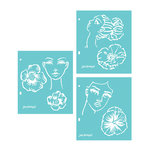 Spellbinders - Artomology Collection - Stencils - Flower Girl