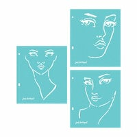 Spellbinders - Artomology Collection - Stencils - Good Face
