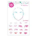 Spellbinders - ArtEssentials Collection - Clear Acrylic Stamps - Eyes