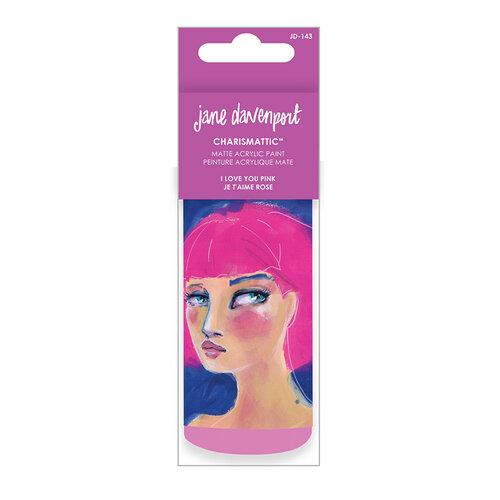 Spellbinders - Artomology Collection - Charismatic Acrylic Paint - I Love You Pink