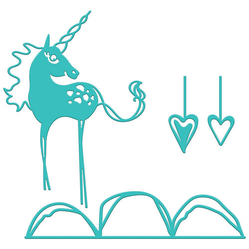 Spellbinders - Artomology Collection - Dies - Happy Little Unicorn