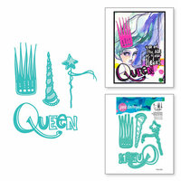 Spellbinders - Artomology Collection - Etched Dies - Queen for a Day