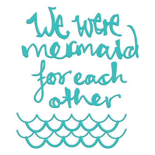 Spellbinders - Artomology Collection - Dies - Mermaid for Each Other