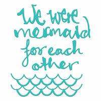 Spellbinders - Artomology Collection - Dies - Mermaid for Each Other