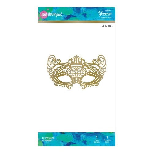 Spellbinders - Artomology Collection - Glimmer Hot Foil - Glimmer Plate - Le Mystere