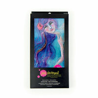 Spellbinders - Making Faces Collection - DramaStick - Pencil Crayon - Ocean Eyes