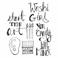Spellbinders - Artomology Collection - Clear Acrylic Stamps - Crafty Minx