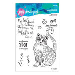 Spellbinders - Whimsical and Wild Collection - Clear Acrylic Stamps - Best Leopard