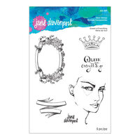 Spellbinders - Stamp Camp Collection - Clear Acrylic Stamps - Queen of Everything