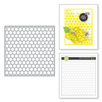 Fun Stampers Journey - Buzzworthy Collection - Stencils - Sweet Honeycomb