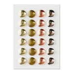 Spellbinders - Lumberjack Days Collection - Self Adhesive Metal Rivets - Bro