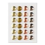 Spellbinders - Lumberjack Days Collection - Self Adhesive Metal Rivets - Bro